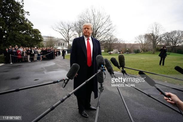 DC: President Trump Departs White House En Route To Palm Beach, Florida