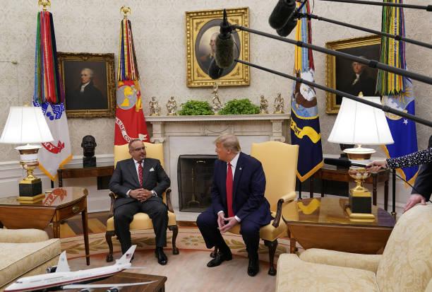 DC: President Trump Meets With Bahrain's Crown Prince Salman bin Hamad Al-Khalifa