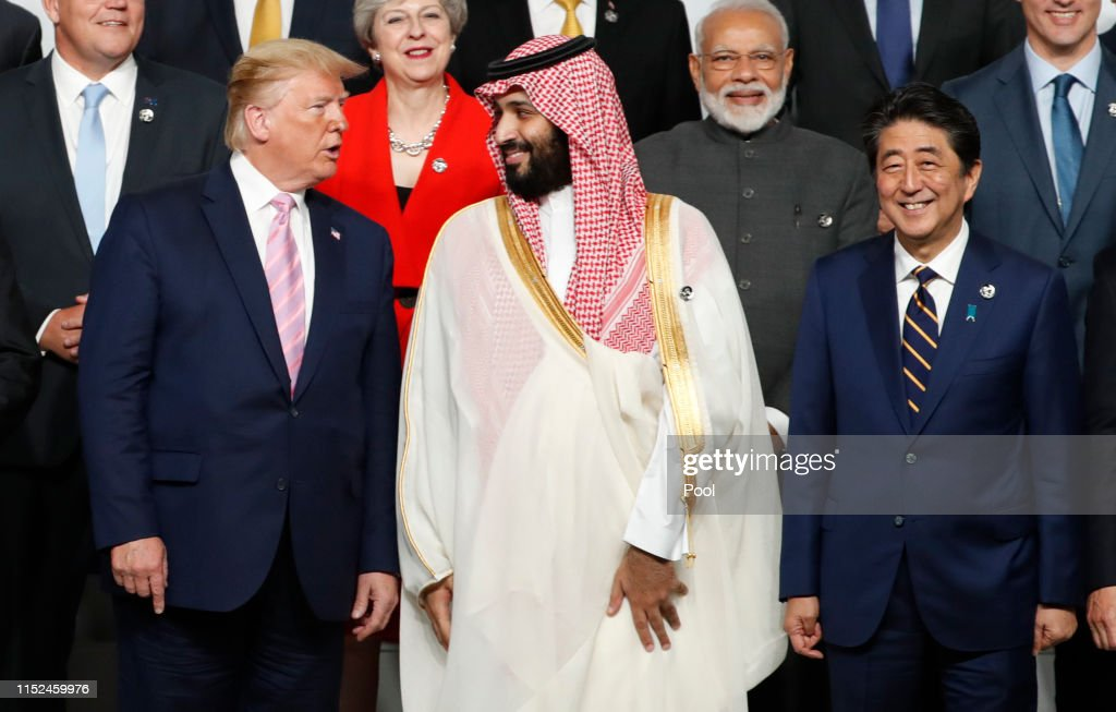 Osaka Hosts The G20 Summit - Day One : News Photo