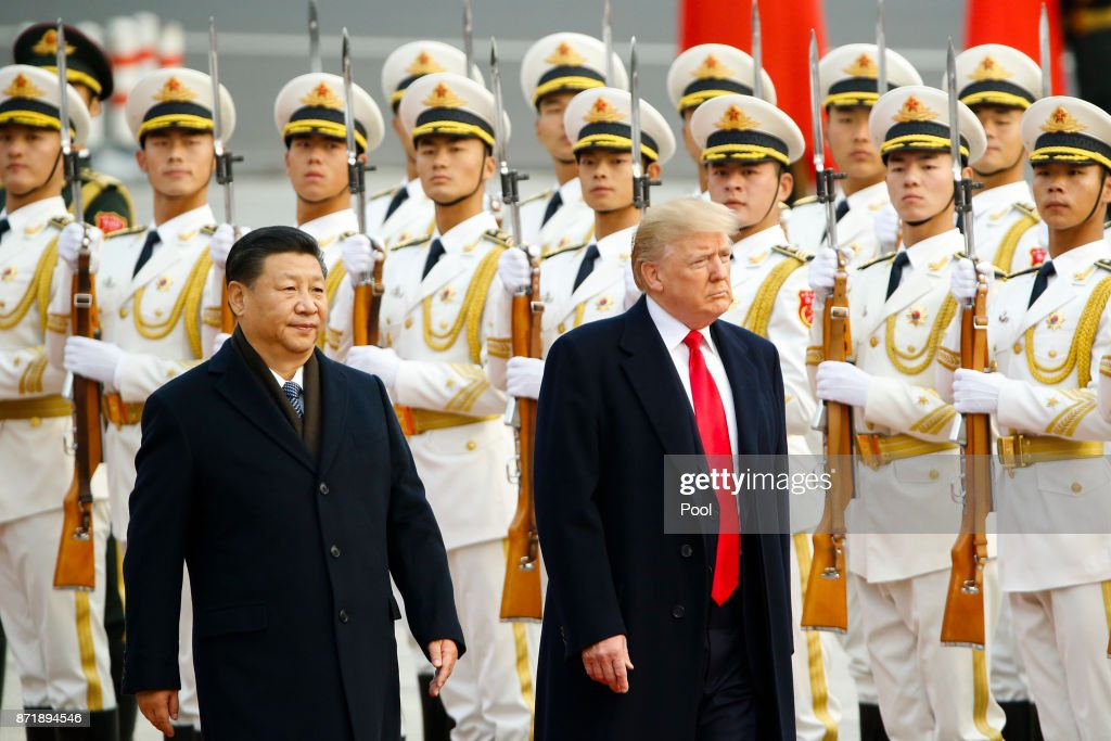 U.S. President Donald Trump Visits China
