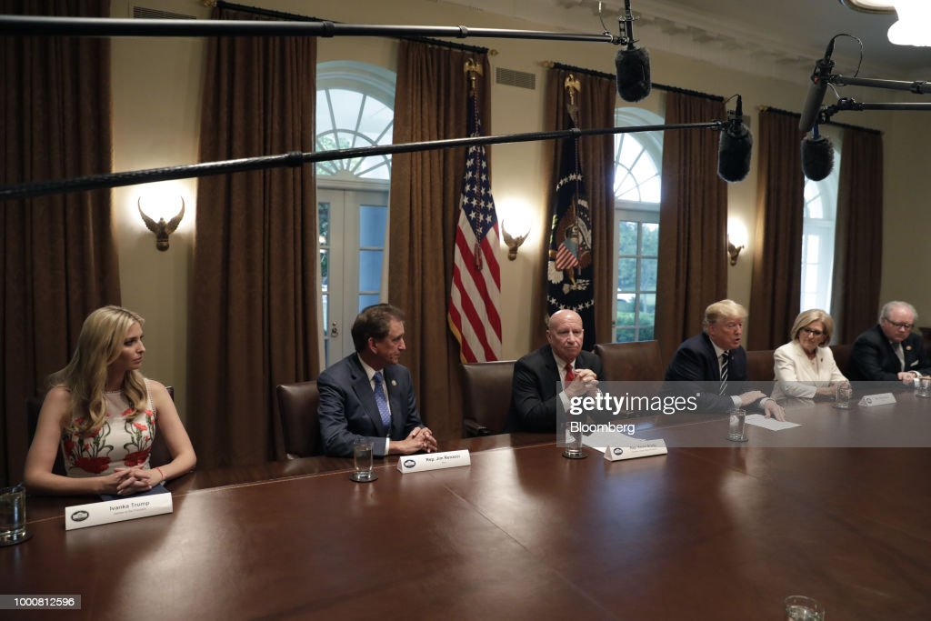 President Trump Meets With Members Of Congress