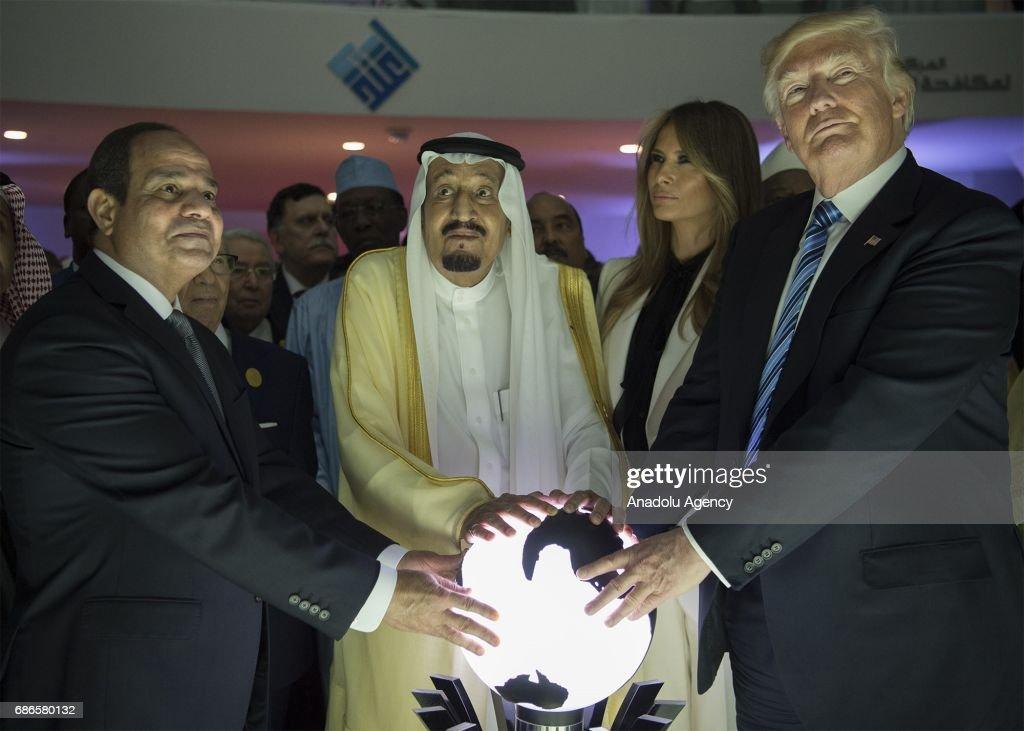 US President Trump in Saudi Arabia : News Photo