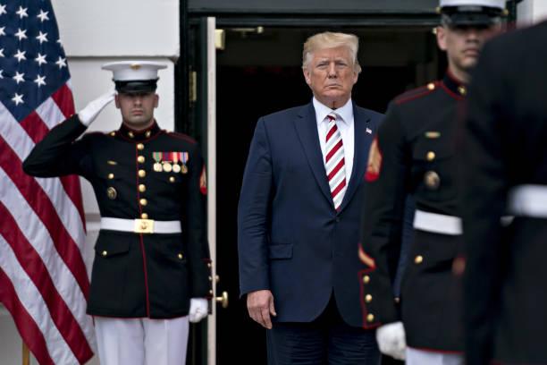 DC: President Trump Hosts Romanian President Klaus Iohannis At White House