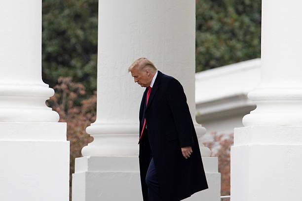 DC: President Trump Departs White House For Pennsylvania Rallies