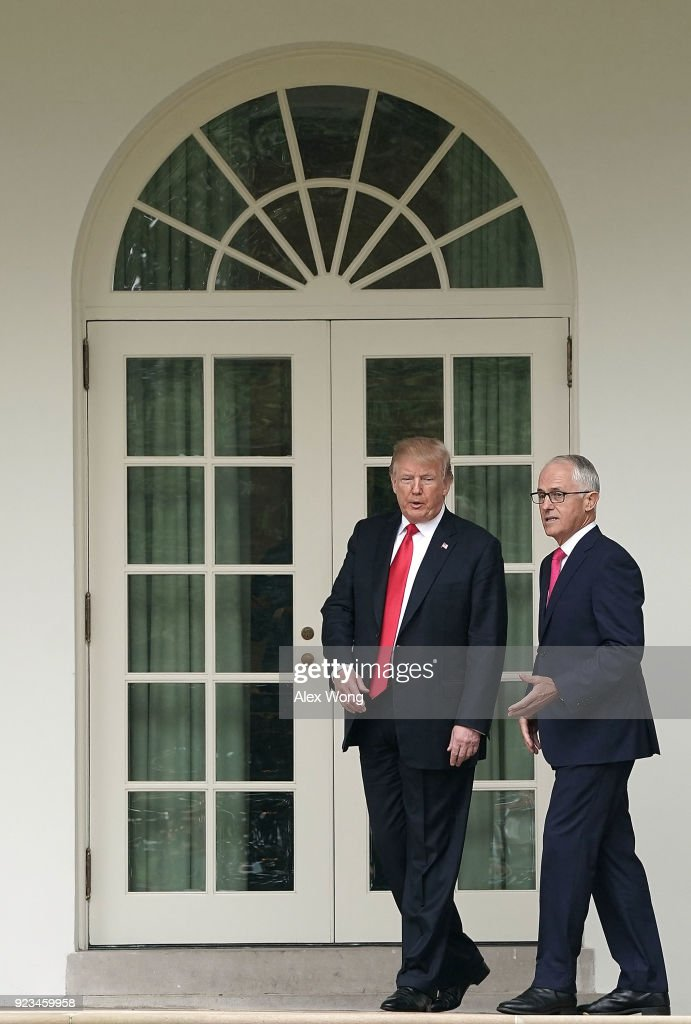 President Trump Holds Joint Press Conference With Australian PM Turnbull