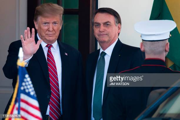 DC: President Trump Holds Joint Press Conference With Brazilian President Bolsonaro