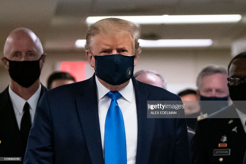 US-POLITICS-TRUMP-WALTERREED : News Photo