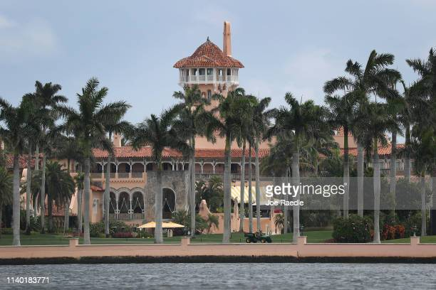 President Donald Trump's Mar-a-Lago resort is seen on April 03, 2019 in West Palm Beach, Florida. Reports indicate that at over the past weekend a...