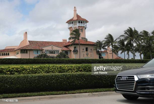 President Donald Trump's MaraLago resort is seen on April 03 2019 in West Palm Beach Florida Reports indicate that at over the past weekend a woman...