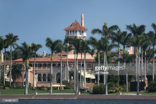 President Donald Trump's MaraLago resort is seen on November 1 2019 in Palm Beach Florida President Trump announced that he will be moving from New...