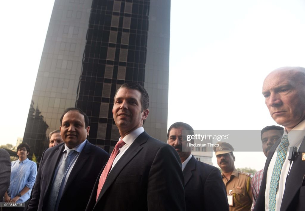 Businessman Donald Trump Junior In Pune, Launches Tower With Unit Prices Starting Rs 150 Mn