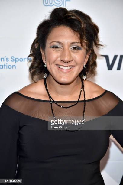 President Elana Meyers Taylor attends The Women's Sports Foundation's 40th Annual Salute to Women in Sports Awards Gala celebrating the most...