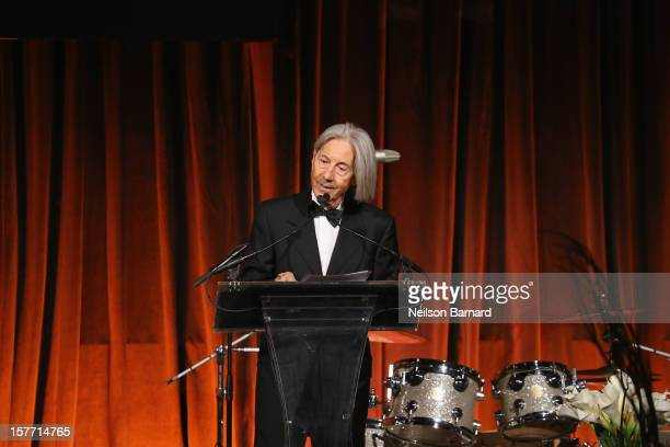 President Elio D'Anna speaks during the European School Of Economics Foundation Vision And Reality Awards on December 5 2012 in New York City
