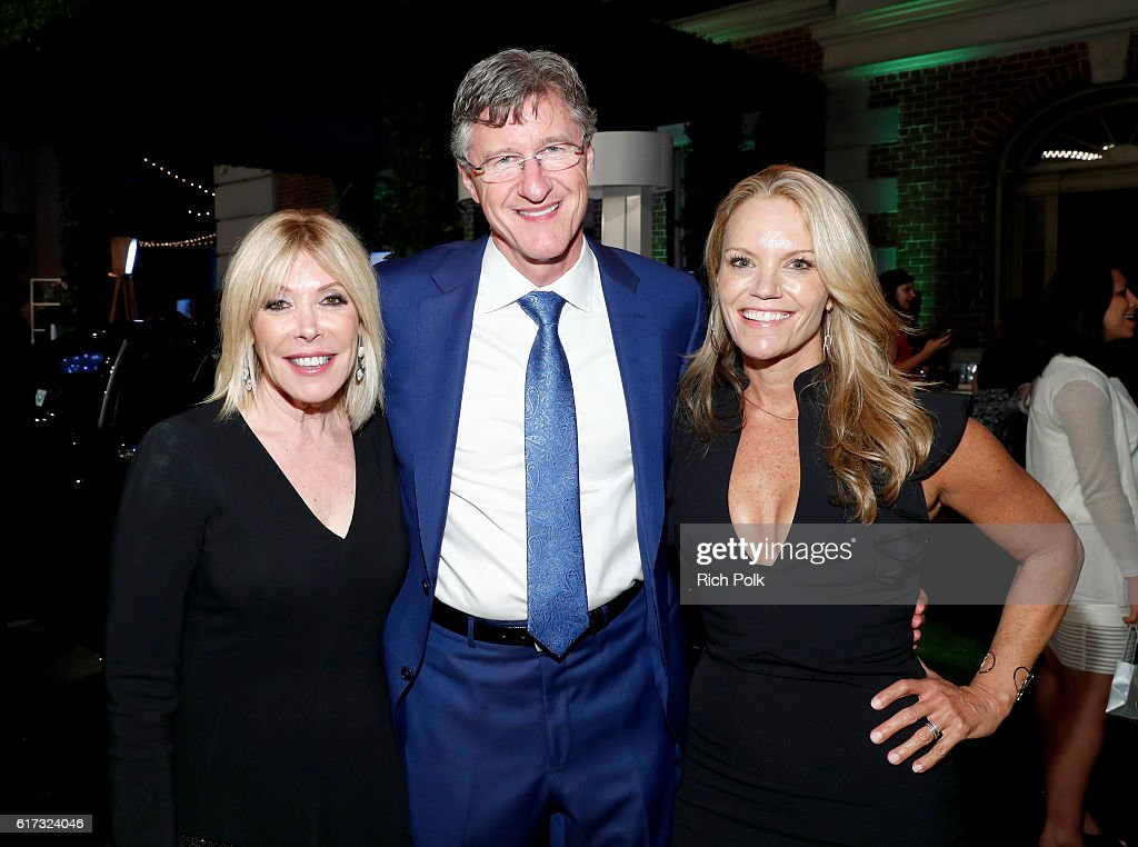 President, EMA Debbie Levin, CEO, Calvert Investments John Streur and Robyn O'Brien attend the Environmental Media Association 26th Annual EMA Awards Presented By Toyota, Lexus And Calvert at Warner Bros. Studios on October 22, 2016 in Burbank, California.