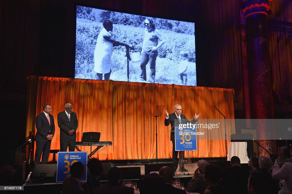 President Emeritus & Co-Founder, Children's Health Fund Irwin Redlener, MD speaks onstage during the Children's Health Fund 2018 Annual Benefit at Cipriani 42nd Street on June 13, 2018 in New York City.