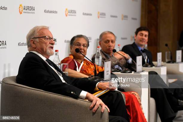 President Emeritus of the International Crisis Group Former Foreign Minister of Australia and Aurora Prize Selection Committee Member Gareth Evens...
