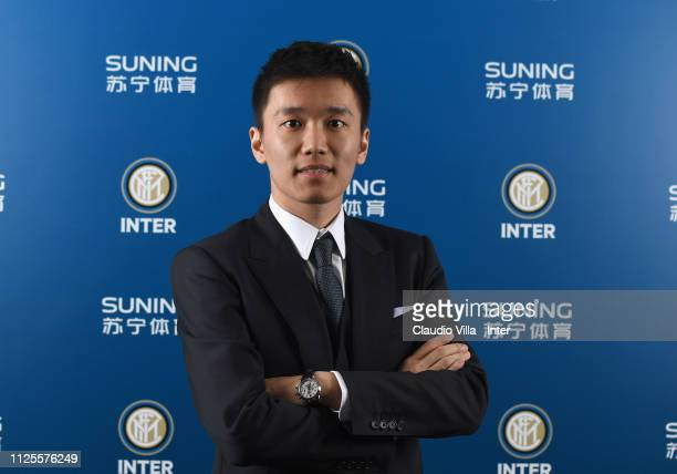 President FC Internazionale Steven Zhang Kangyang poses for a photo during the FC Internazionale shareholders meeting at Stadio Giuseppe Meazza on...