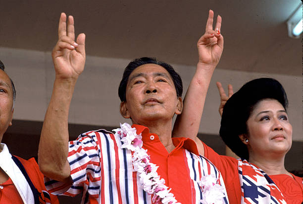 PHL: 25th February 1986 - Ferdinand Marcos Flees The Philippines
