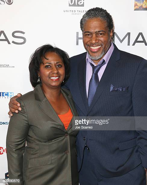 President Filmbankers International Brenda FlewellynDoby and President of the Humanitas Awards Ali LeRoi attend the 41st Humanitas Prize Awards...
