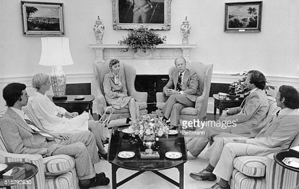 President Ford met privately with the family of Dr Frank Olson and apologized on behalf of the US Government for the scientist's suicide after he was...