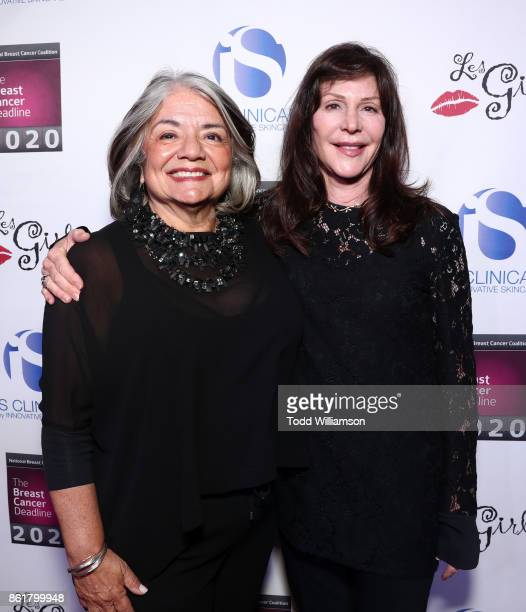 President Fran Visco and Lauren Shuler Donner attend National Breast Cancer Coalition Fund's 17th Annual Les Girls Cabaret at Avalon Hollywood on...