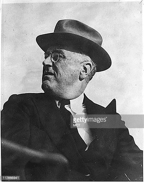 President Franklin D Roosevelt in Casablanca Morocco January 18 1943