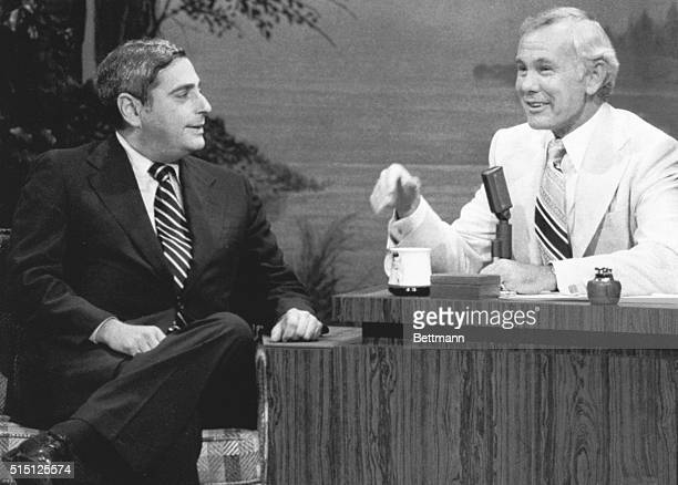 NBC President Fred Silverman on the sixteenth anniversary of The Tonight Show with Johnny Carson