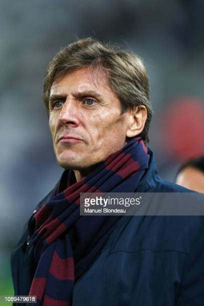 President Frederic Longuepee of FC Girondins de Bordeaux during the UEFA Europa League match between Bordeaux and Zenith St Petersburg at Stade...