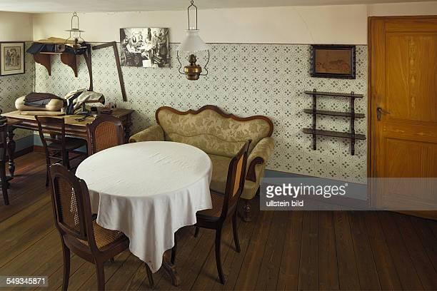 President Friedrich Ebert Memorial in Heidelberg birthplace habitation bedroom