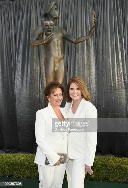 President Gabrielle Carteris and SAG Awards National Programming Executive Producer Kathy Connell attends the 25th Annual Screen Actors Guild Awards...