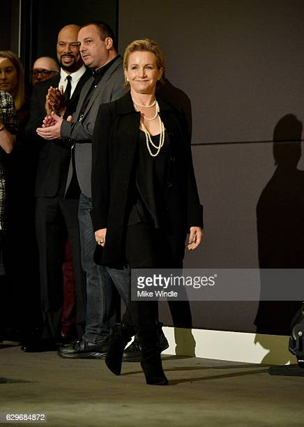 AFTRA president Gabrielle Carteris attends the 23rd Annual SAG Award Nominations Announcement at Silver Screen Theater on December 14 2016 in West...