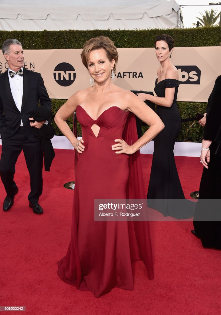 President Gabrielle Carteris attends the 24th Annual Screen Actors Guild Awards at The Shrine Auditorium on January 21, 2018 in Los Angeles, California. 27522_006