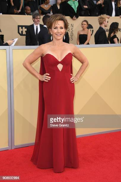 President Gabrielle Carteris attends the 24th Annual Screen ActorsGuild Awards at The Shrine Auditorium on January 21, 2018 in Los Angeles,...