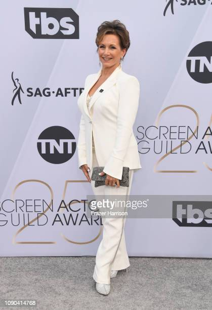President Gabrielle Carteris attends the 25th Annual Screen Actors Guild Awards at The Shrine Auditorium on January 27 2019 in Los Angeles California