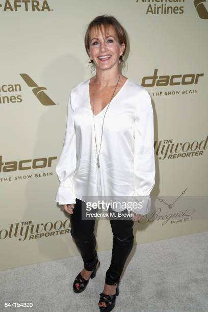 President Gabrielle Carteris attends The Hollywood Reporter and SAGAFTRA Inaugural Emmy Nominees Night presented by American Airlines Breguet and...