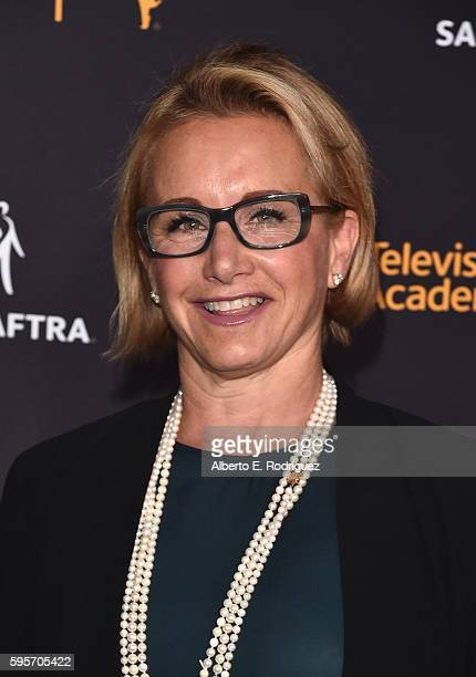 President Gabrielle Carteris attends the Television Academy And SAGAFTRA's 4th Annual Dynamic and Diverse Celebration at The Saban Media Center on...