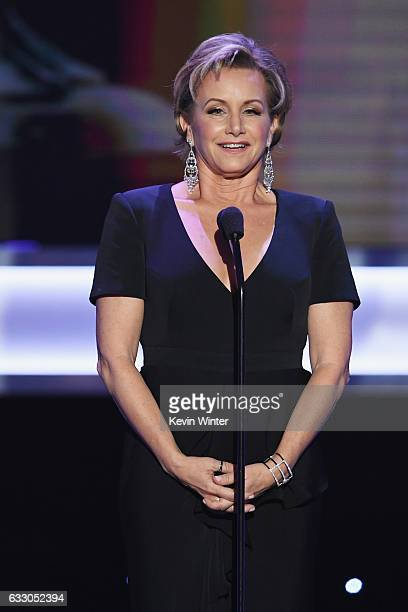 President Gabrielle Carteris speaks onstage during The 23rd Annual Screen Actors Guild Awards at The Shrine Auditorium on January 29 2017 in Los...