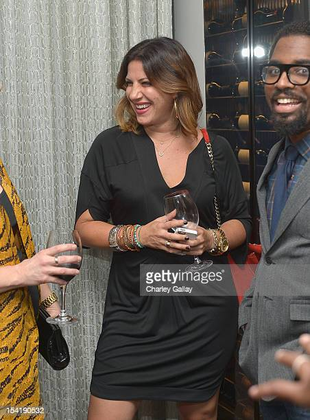 President GenArt Lara Bandler attends GenArt's 14th Annual Fresh Faces In Fashion Intimate Dinner at Andaz on October 15 2012 in West Hollywood...