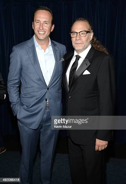 """President General Manager AMC and Sundance TV Charlie Collier and Greg Nicotero attend AMC's """"The Walking Dead"""" season 6 fan premiere event at..."""
