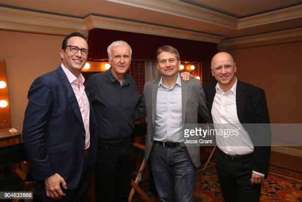 President general manager AMC SundanceTV AMC Studios Charlie Collier director James Cameron senior vice president of unscripted programming at AMC...