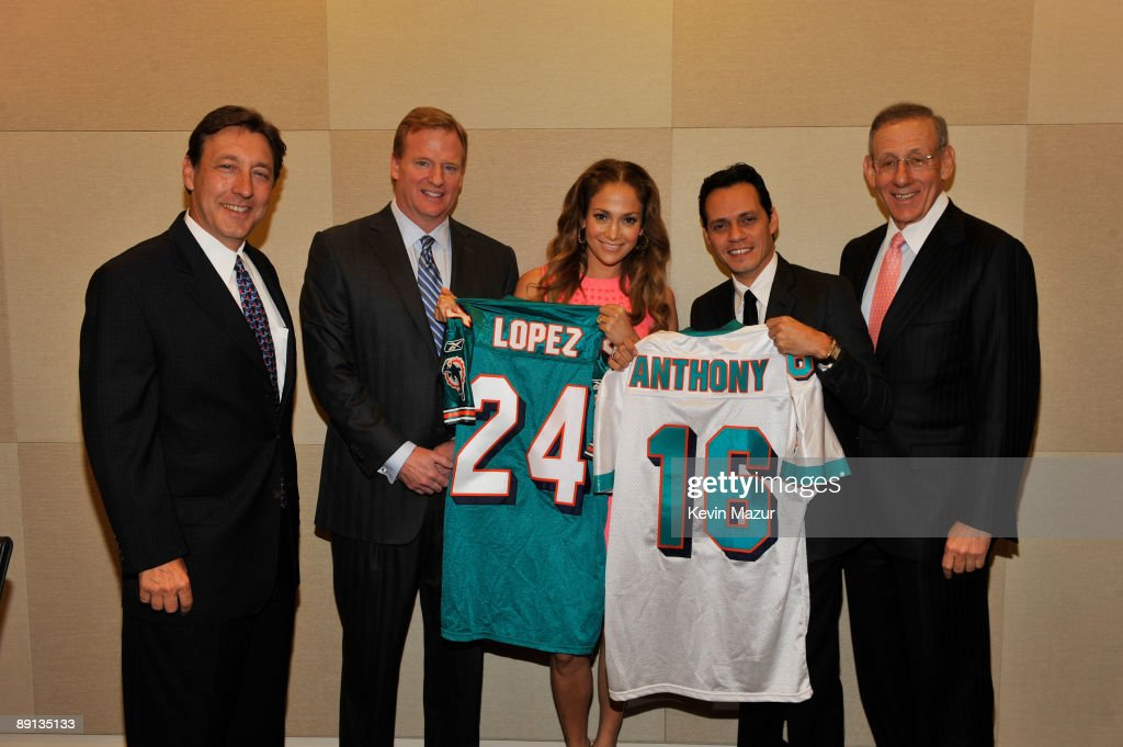 Marc Anthony Announces Partnership with Miami Dolphins - Press Conference