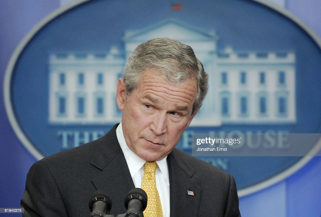 President Bush Discusses Current Economic Issues