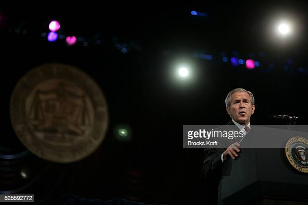 President George W Bush addresses the National Association for the Advancement of Colored People Convention July 20 2006 in Washington For five years...