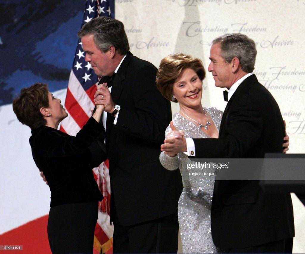 George W Bush Dancing At Funeral