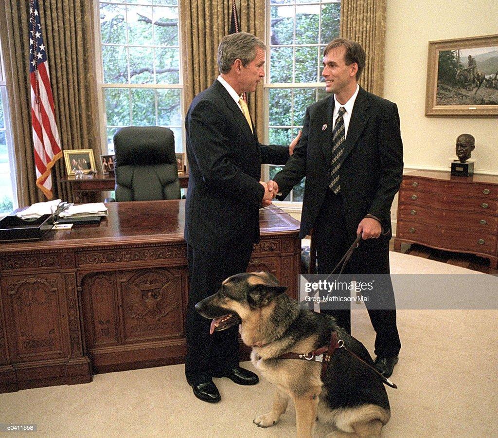 Erik Weihenmayergeorge W Bush Pictures Getty Images