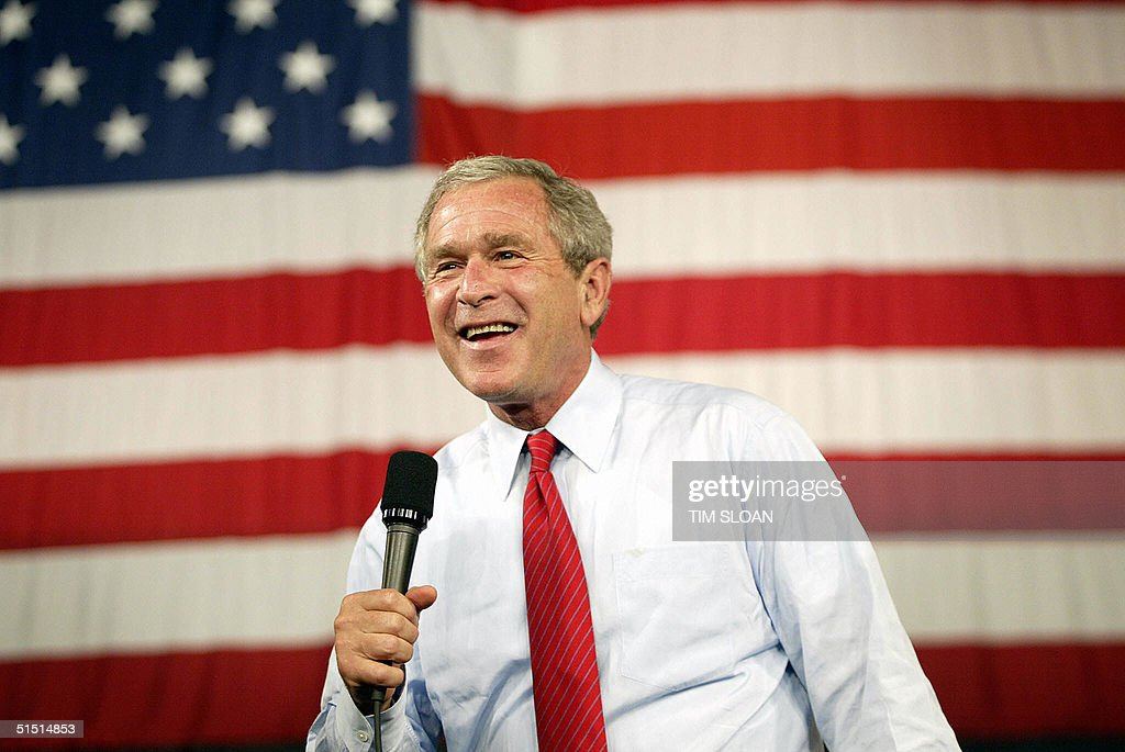 President Bush Campaigns In The Midwest