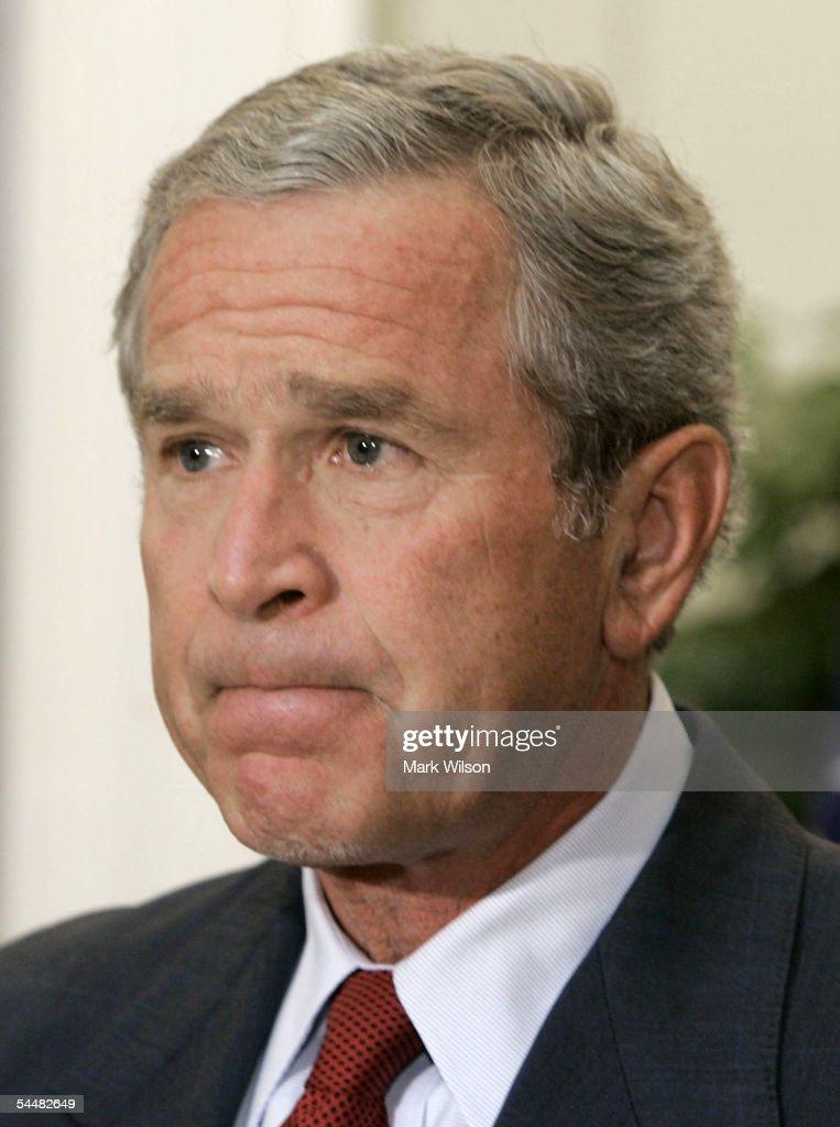 President Bush Speaks On Death Of Justice Rehnquist