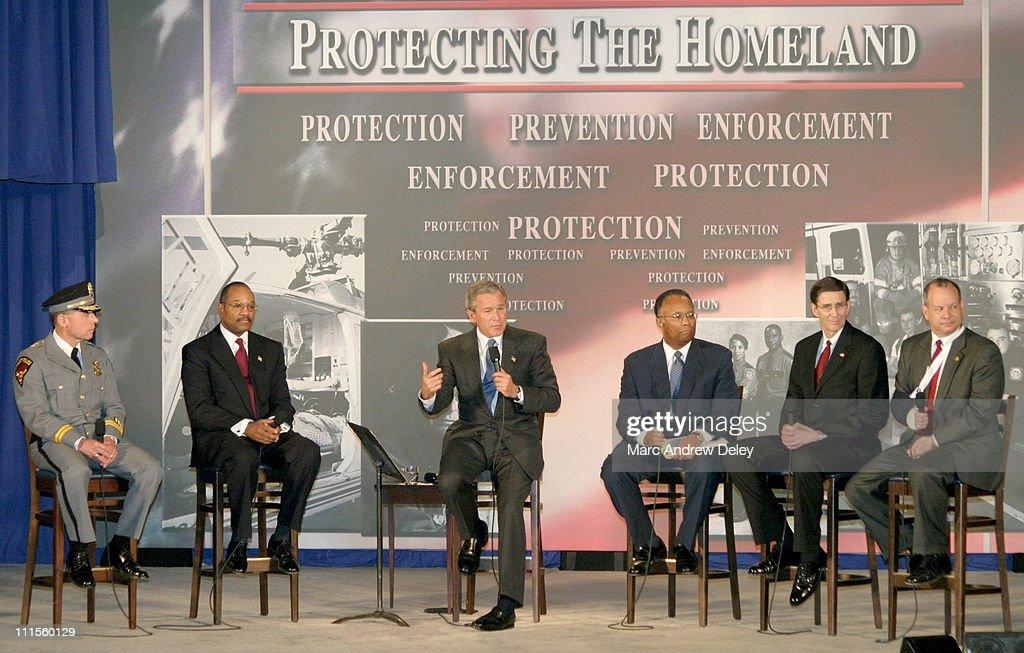 President George W. Bush - USA Patriot Act Conversation ? April 20, 2004