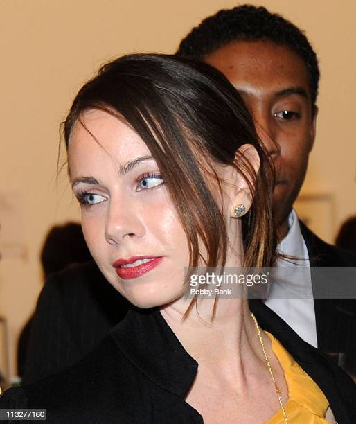 President George W Bush's daughter Barbara Bush attends the American Foundation of Equal Rights Art Auction to support the federal case against Prop...