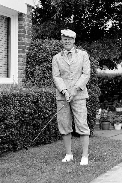 President Gerald R Ford Dresses For Costume Party